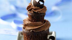 Double Dark Chocolate Coconut Cupcakes