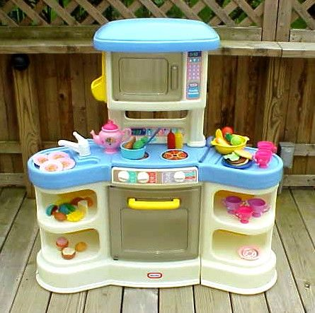 Little Tikes country family Kitchen | I loved this little ...