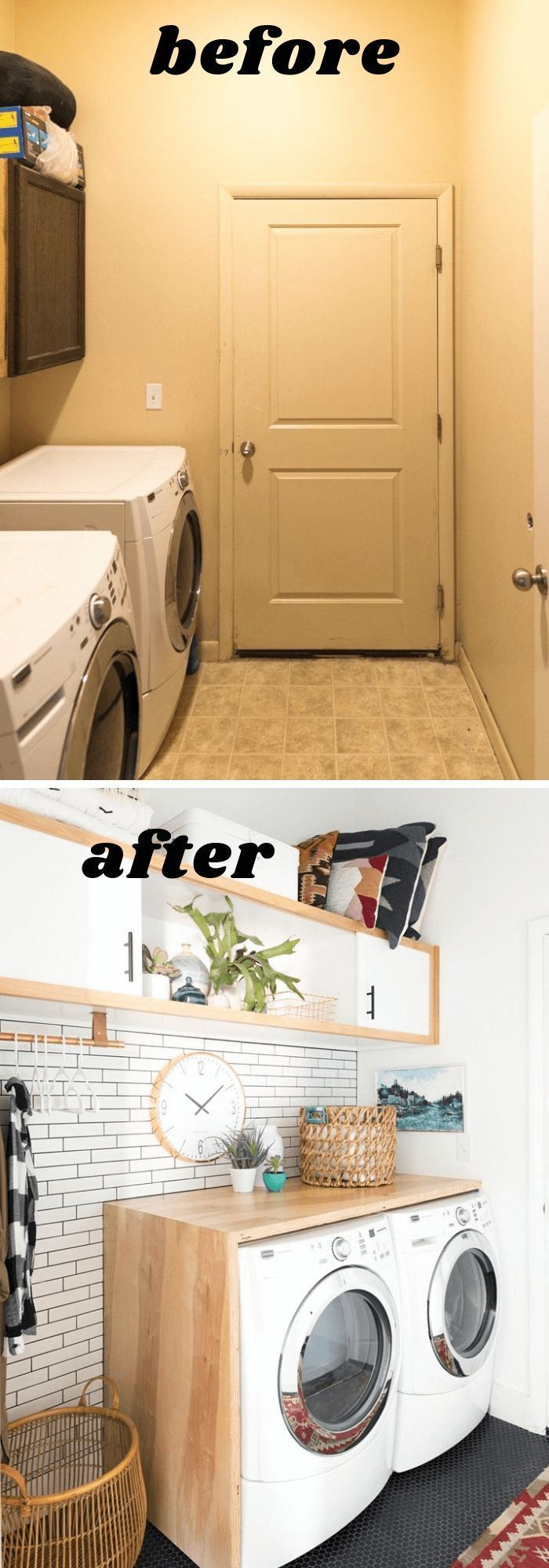 14+ Laundry Room Makeover Ideas on a Budget for 2019 #waterfallcountertop DIY Plywood Waterfall Countertop | Budget Laundry Room Makeover: Before and After #laundryroommakeover #laundryroomideas #laundryroomdecorideas #farmfoodfamily #waterfallcountertop 14+ Laundry Room Makeover Ideas on a Budget for 2019 #waterfallcountertop DIY Plywood Waterfall Countertop | Budget Laundry Room Makeover: Before and After #laundryroommakeover #laundryroomideas #laundryroomdecorideas #farmfoodfamily #waterfallcountertop