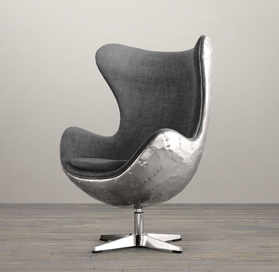 Would Make A Seriously Funky Office Chair 1950s Copenhagen Spitfire Upholstered Chairs Restoration Hardware