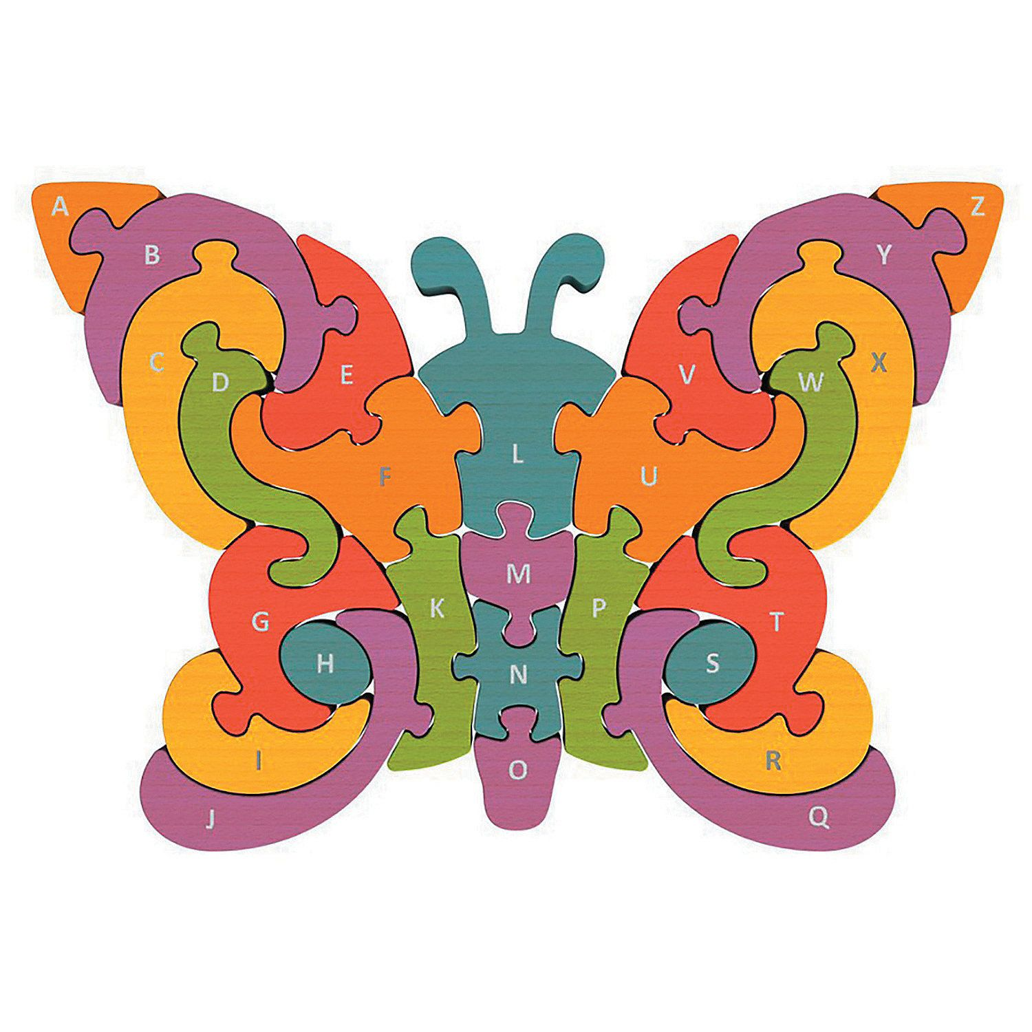 Butterfly A To Z Puzzle Mindware