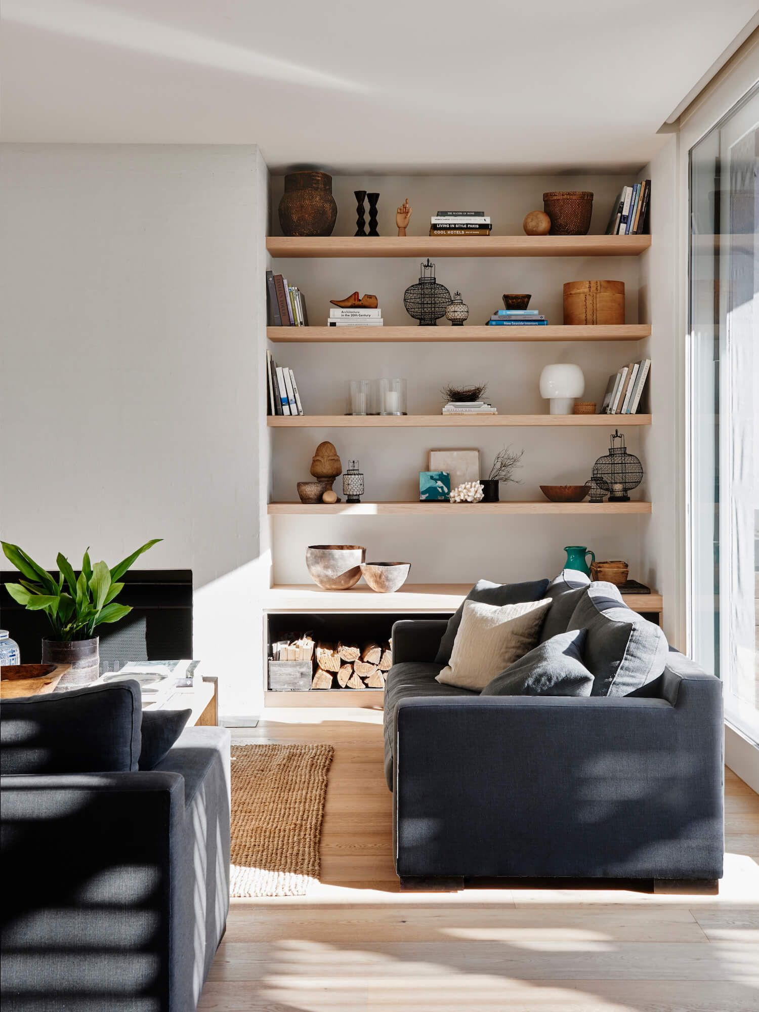 How To Style Bookshelves On A Budget