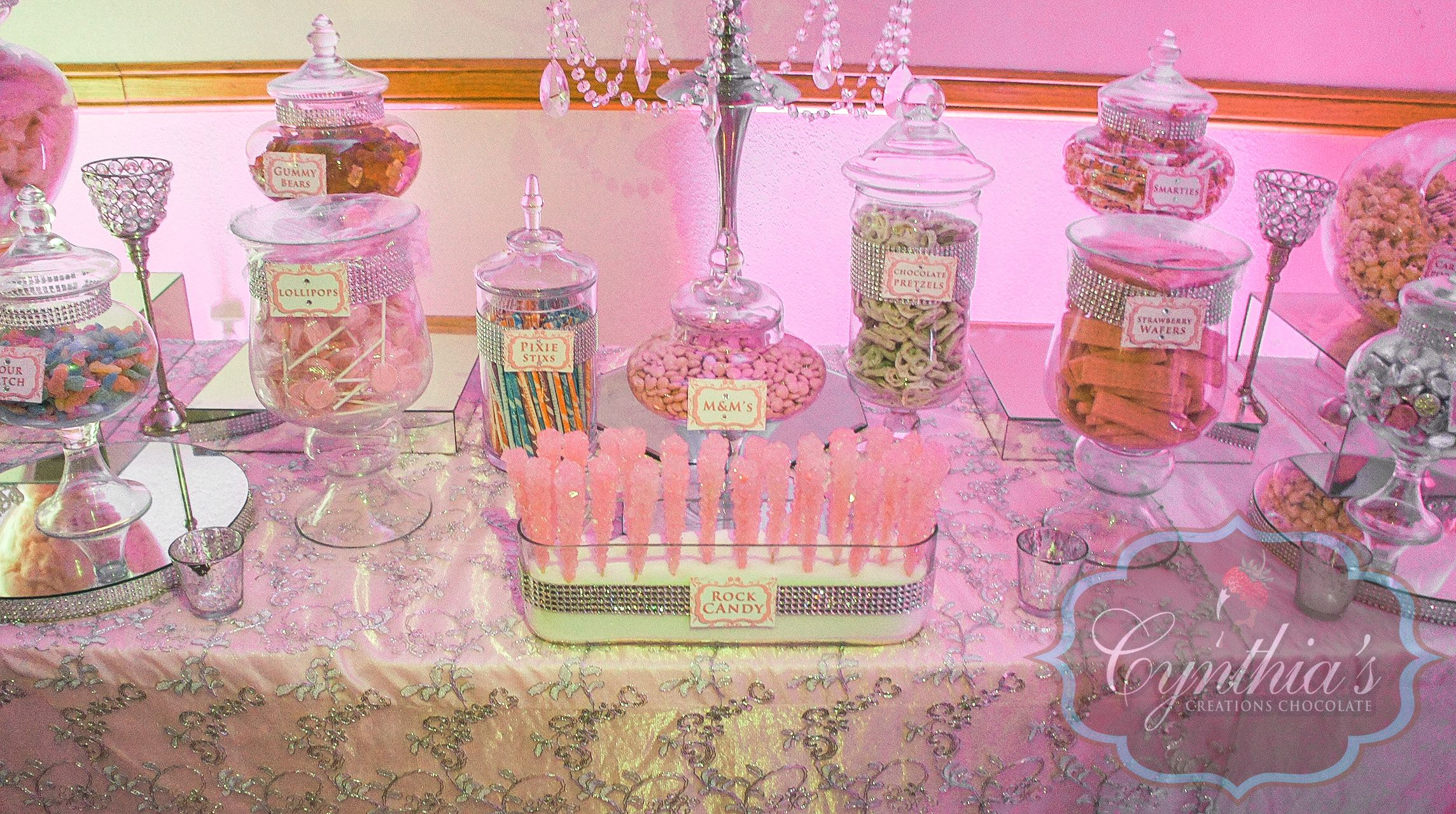 Quinceañera Candy Buffet