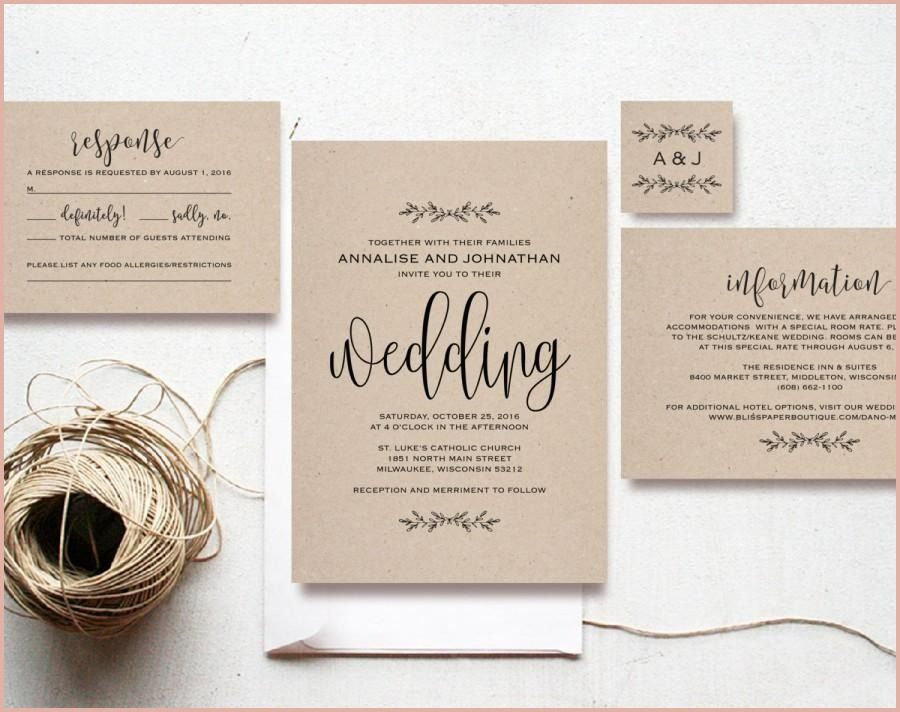 11 Astonishing Cheap Wedding Invitation Sets