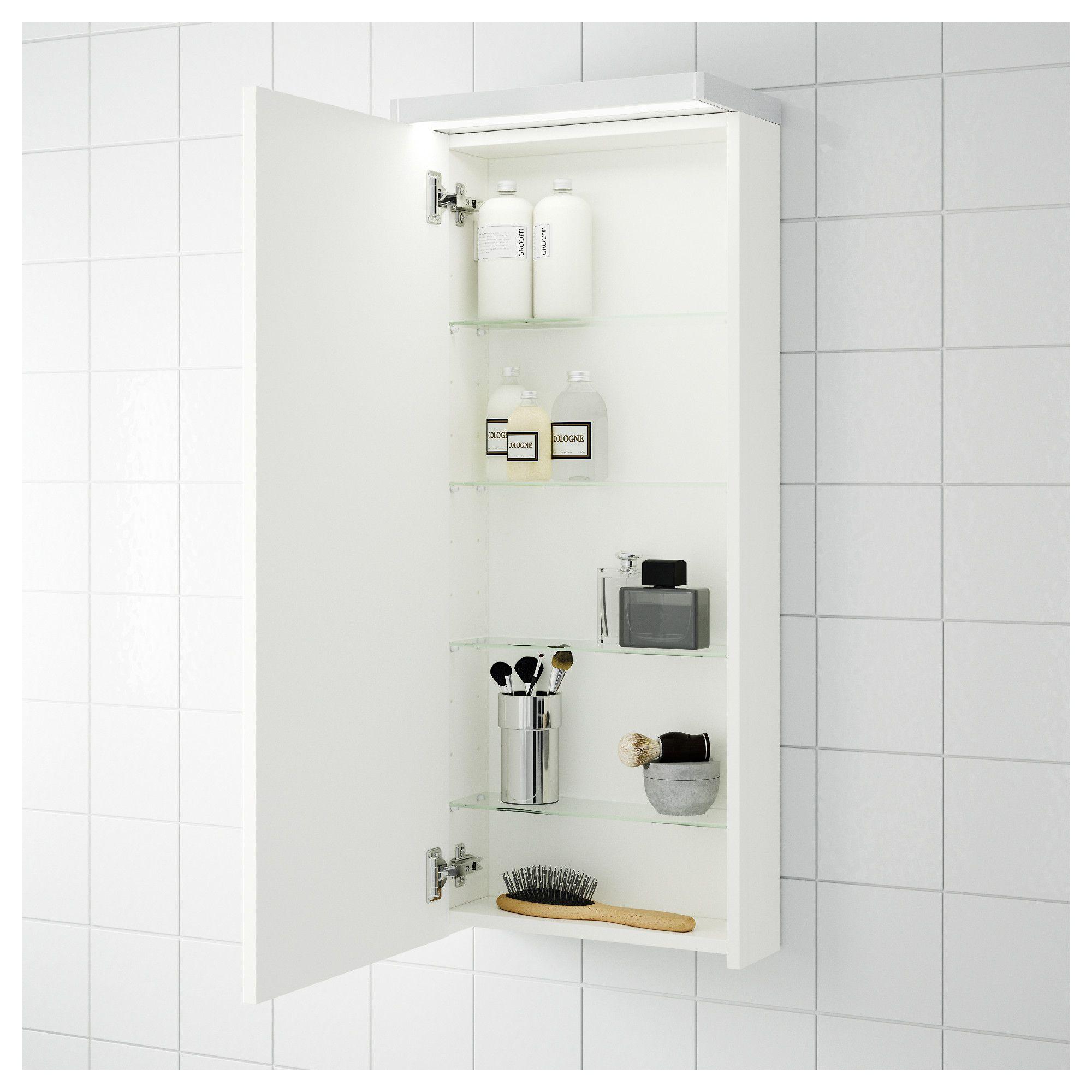 bathroom wall cabinets ikea IKEA   GODMORGON Wall cabiwith 1 door high gloss white in 2018  bathroom wall cabinets ikea