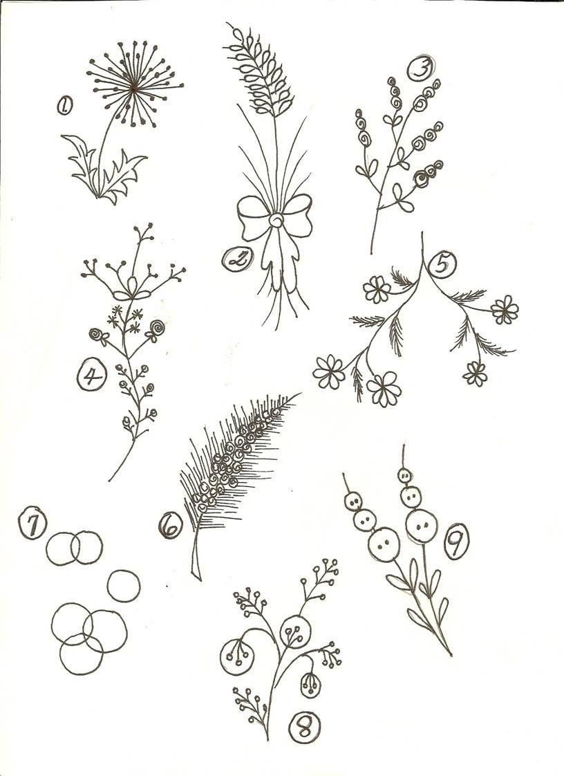 Simple Line Art Drawings : Simple line drawing flower google search flowers