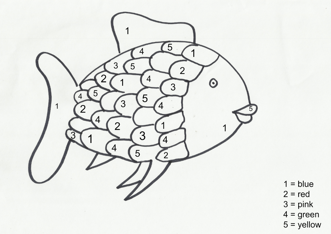 Printable coloring pages rainbow fish - Printable Coloring Pages Rainbow Fish 11