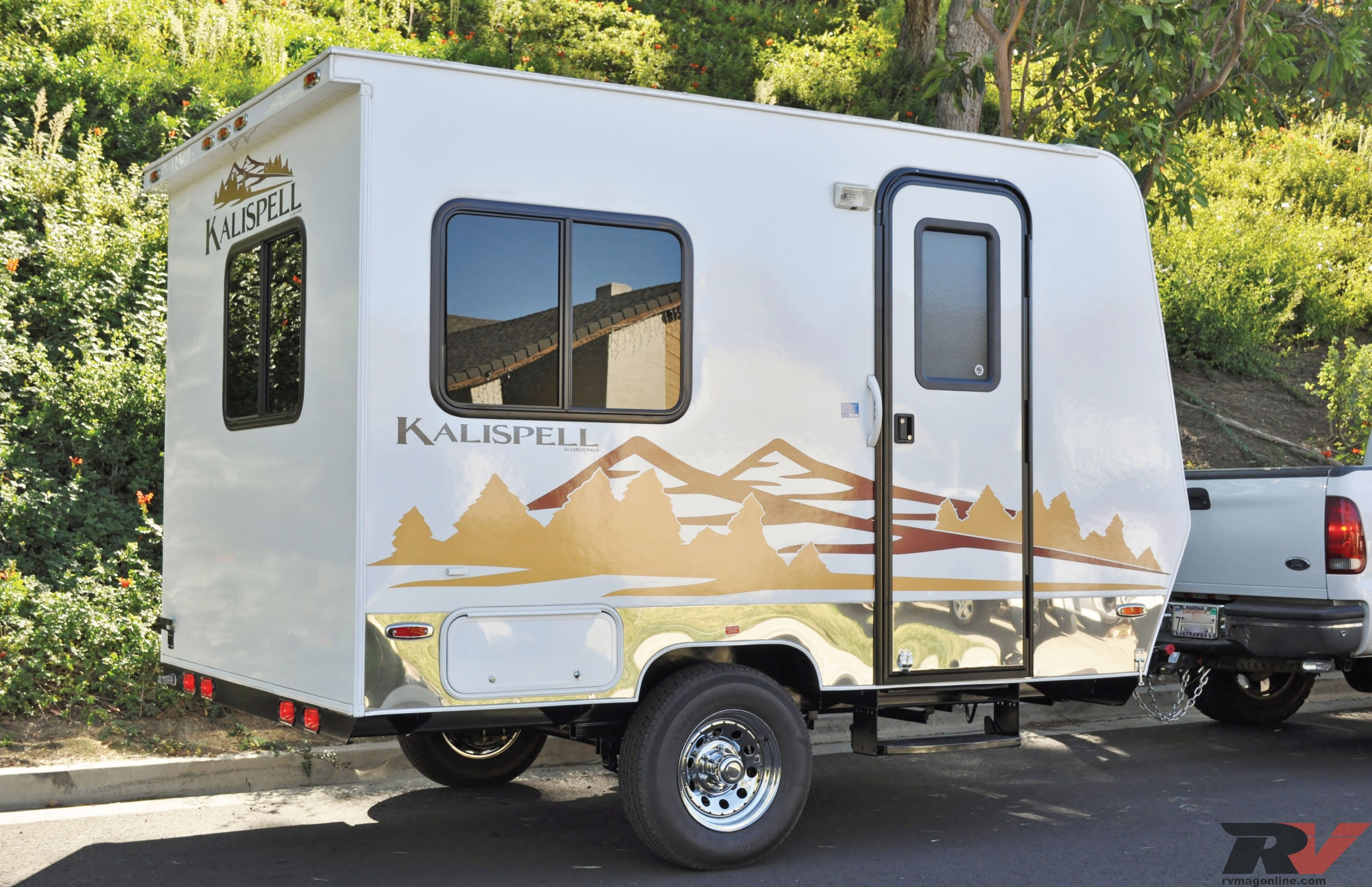 . Best of Small Camping Trailers With Bathrooms   Pics   Small travel