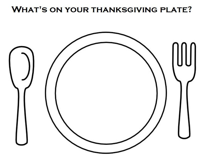 Cut Pictures Of Different Foods And Have Kids Glue What Plate Coloring Page