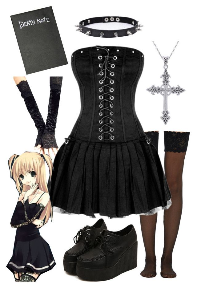 misa amane death note outfit ideen manga und anime. Black Bedroom Furniture Sets. Home Design Ideas