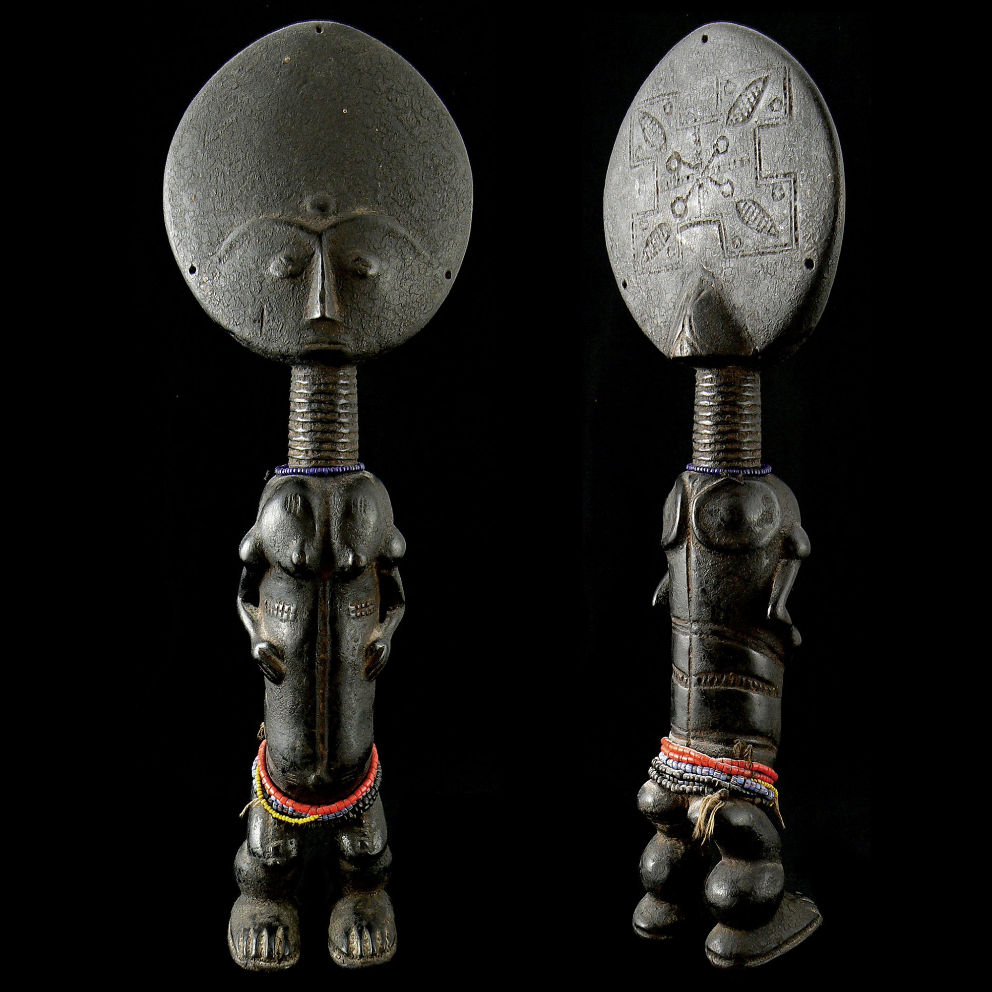 Asante Dolls - Wolfz-Gallery African Art Collection