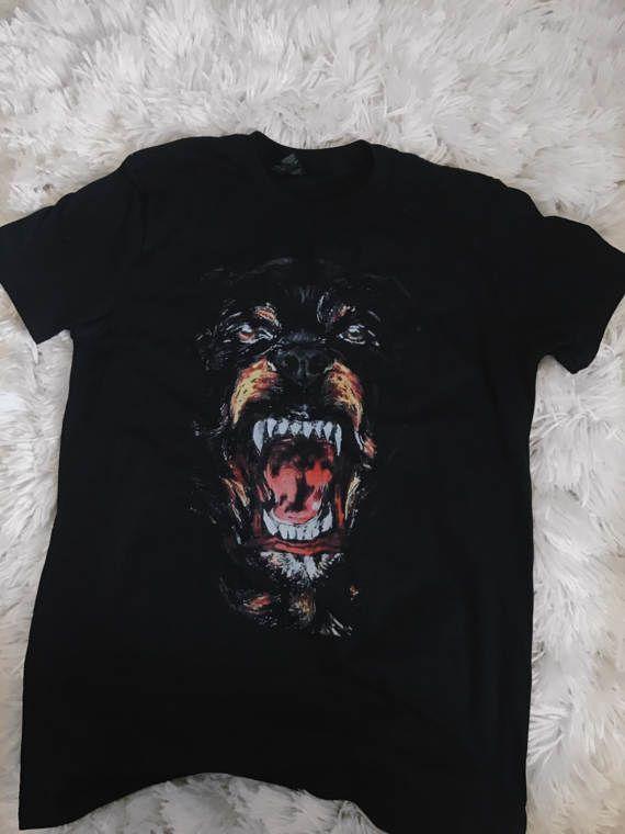 8410370264f Rottweiler Givenchy Paris T shirt Designer
