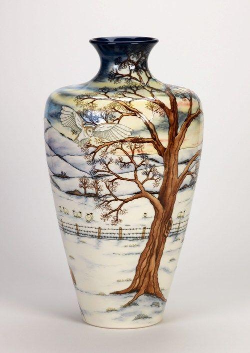Moorcroft Pottery Woodside Farm Designer Anji Davenport   Pottery ...
