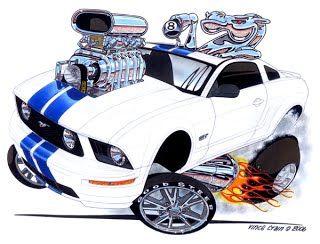 Horse Power 2005 Ford Mustang Gt Vince Crain High Octane Art