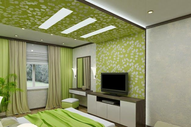 Stylish pop false ceiling designs for bedroom 2015 ideas for Bedroom pop ceiling designs images