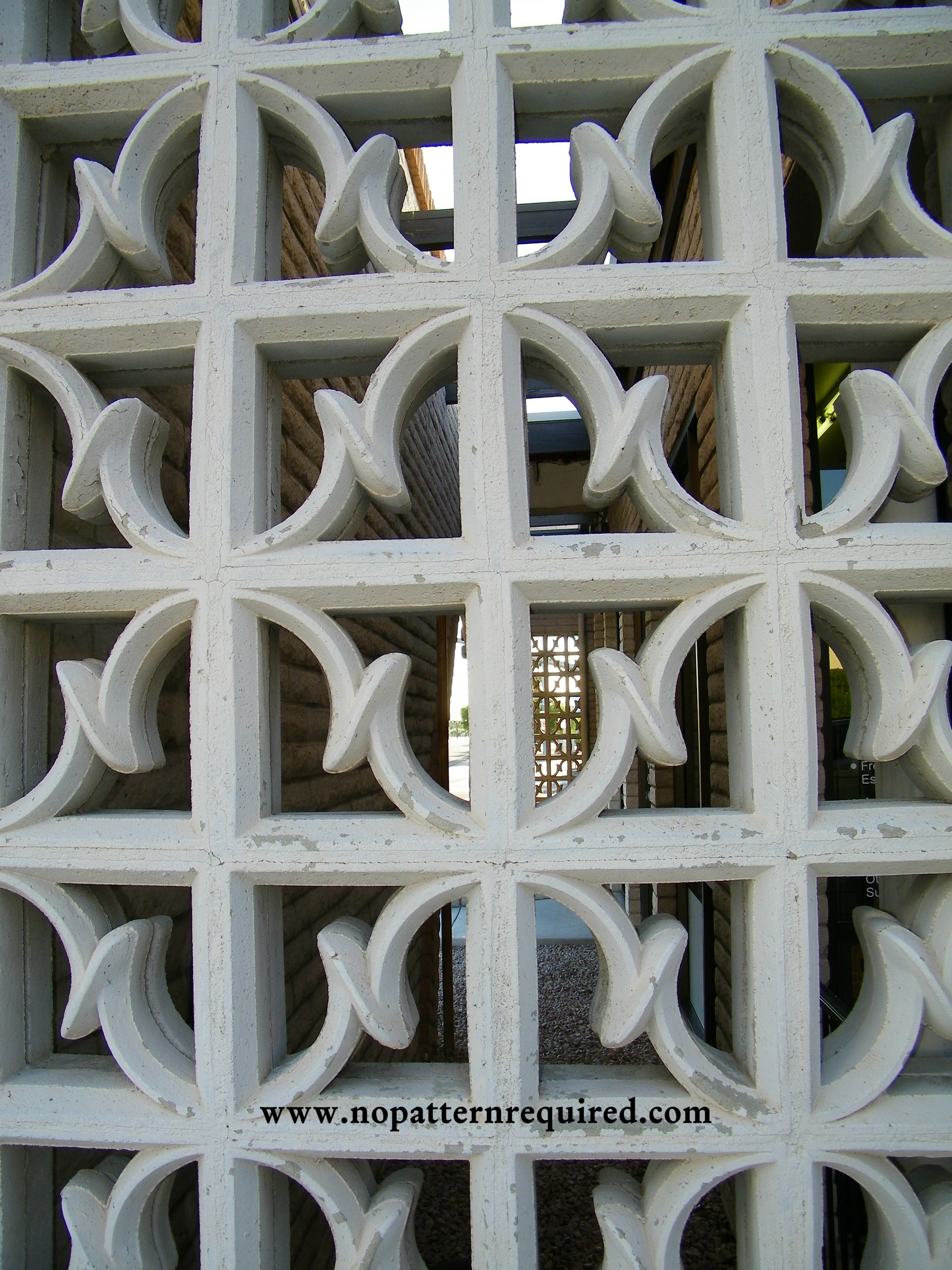 architecture of palms walls block paradise within decorative the dimensions decor x concrete