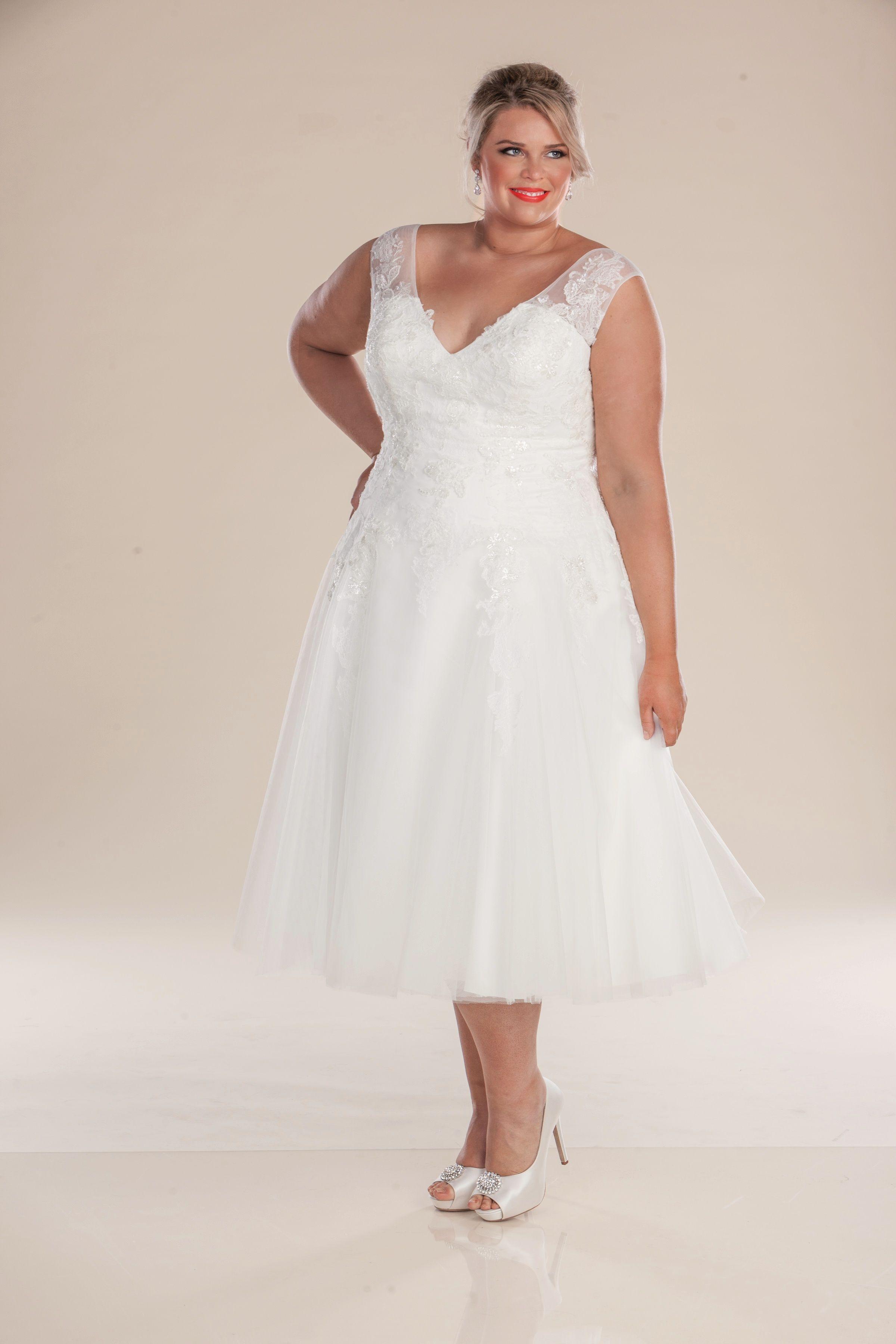 London plus size wedding dress from perfection bridal wedding
