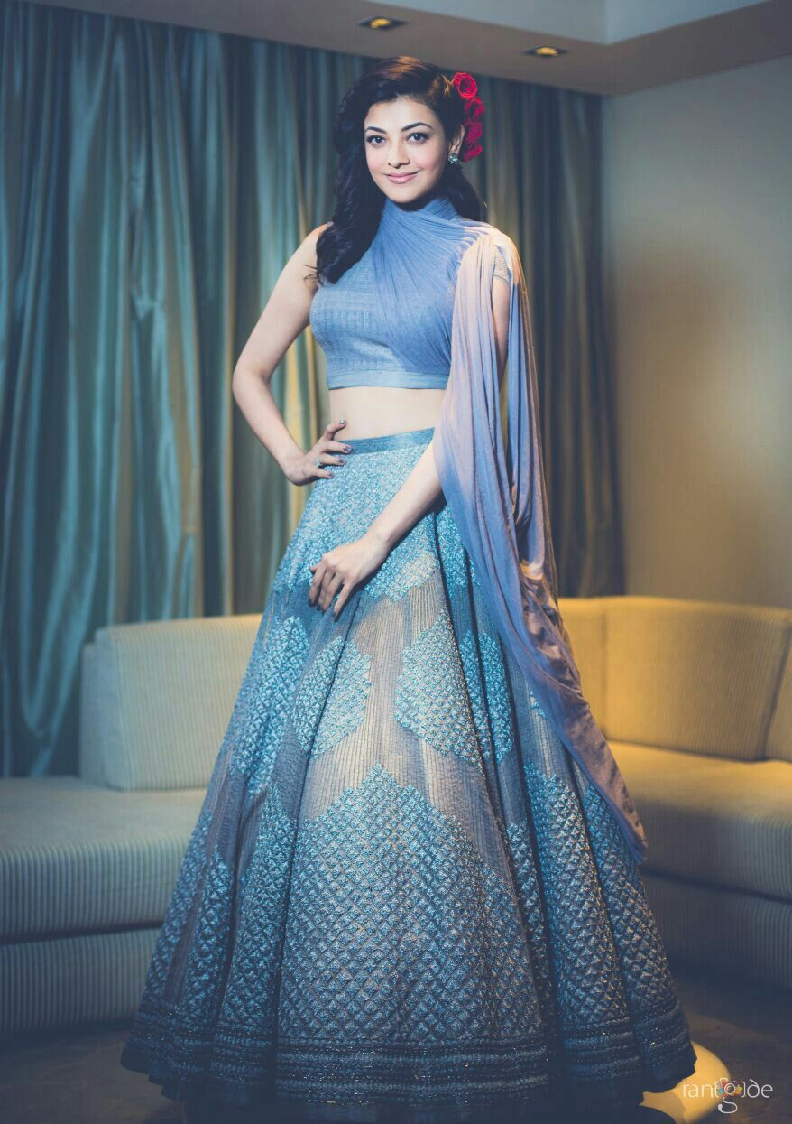 Kajal Aggarwal Sangeet outfit, Indian outfits, Indian attire