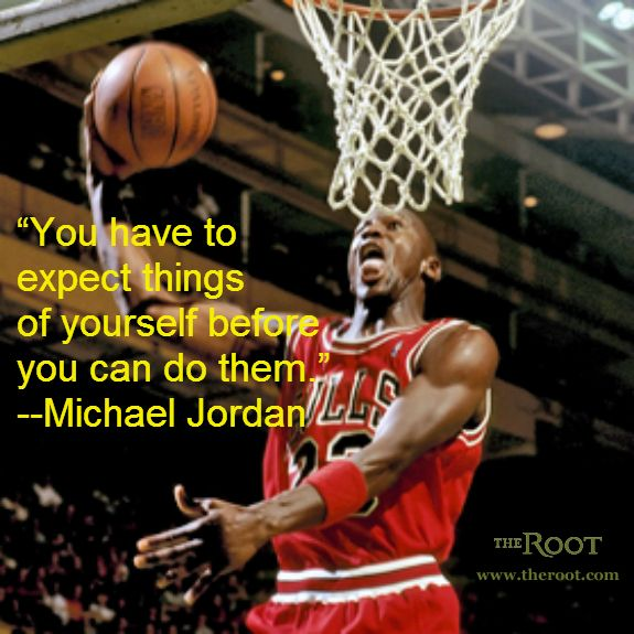 214ab2a0 Best Black History Quotes: Michael Jordan on Expectations | Famous ...