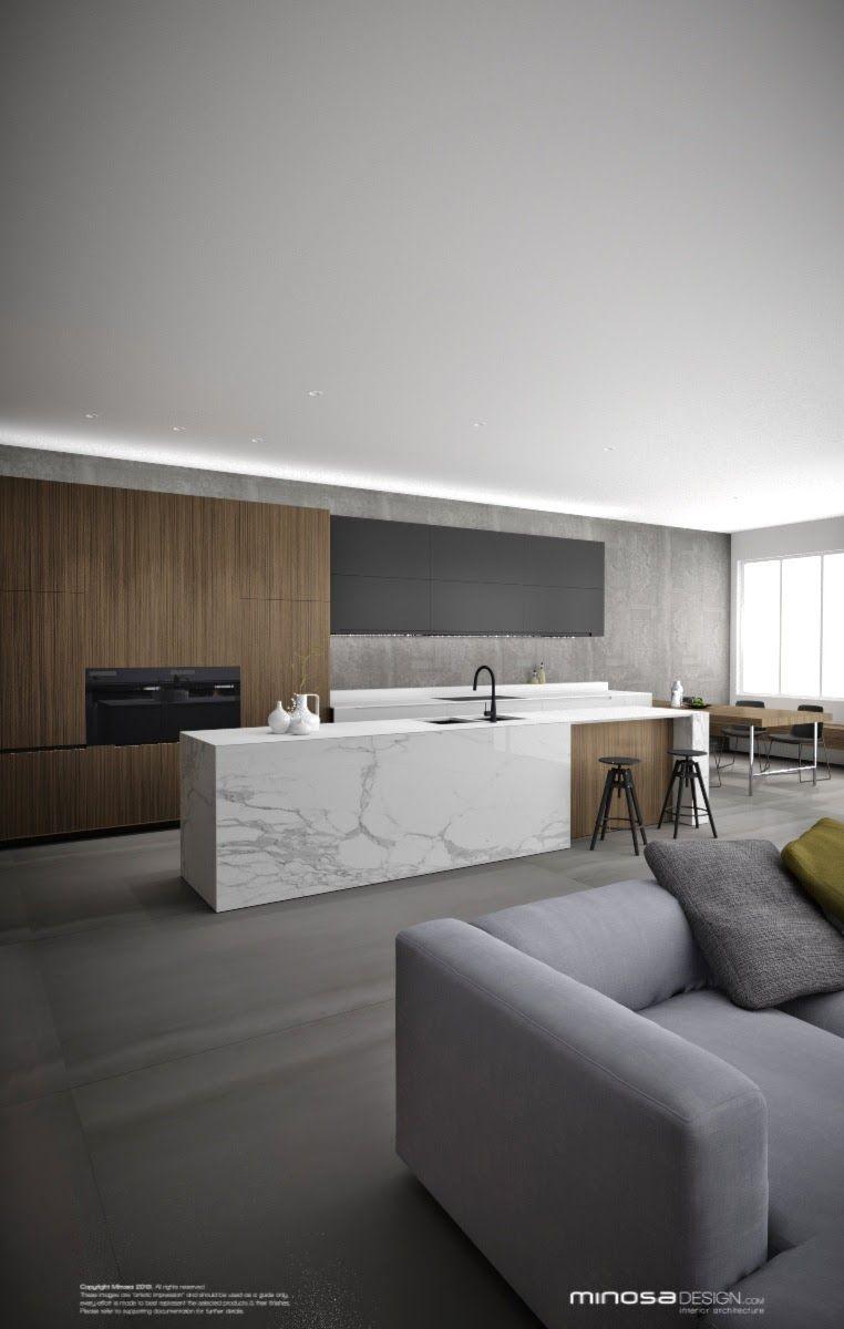 Awesome kitchen | JJ39 | Pinterest | Con estilo, Cocinas y Minimalistas