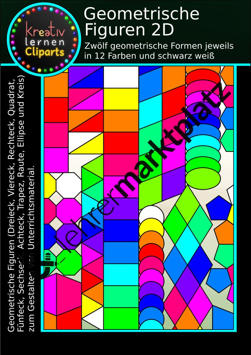 geometrische figuren 2d englisch lehreralltag mathematik sport arbeitsbl tter mathe. Black Bedroom Furniture Sets. Home Design Ideas