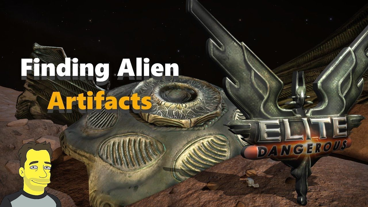 Collecting Alien Artefacts Part 1