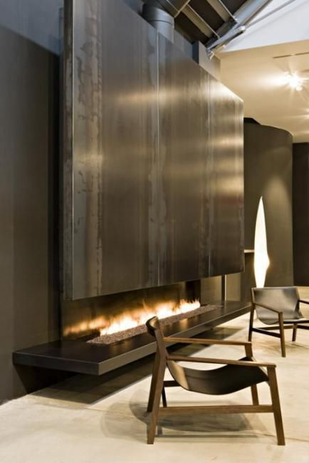 Upscale Fireplace Designs Adding Value to Modern Homes | Pinterest ...