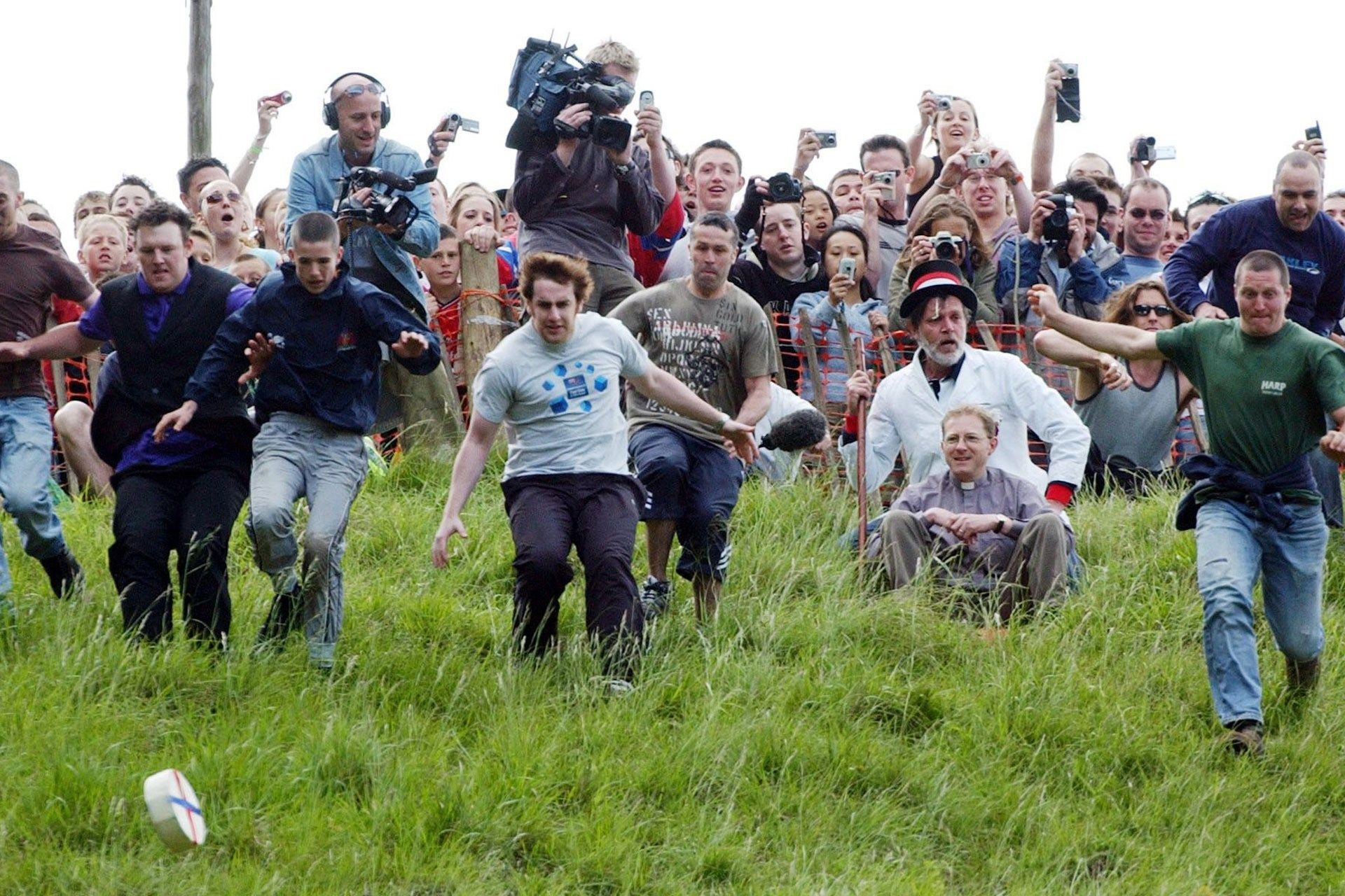 Cheese Rolling Its not a sport. Its a tradition! A 9 lb