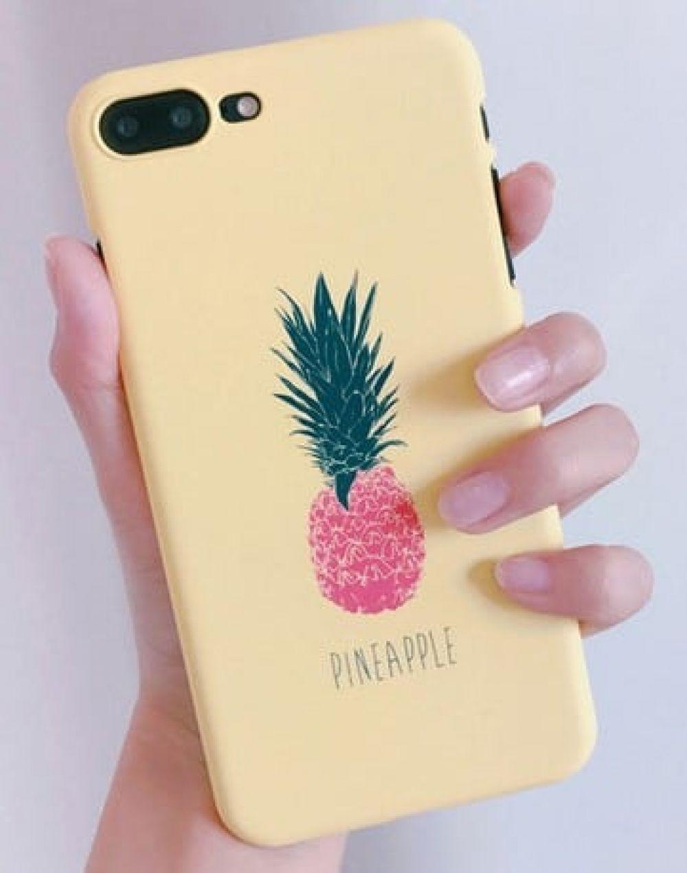 Cute Pineapple Fruit Iphone 8 Case Ultra Slim Hard Case Icases World Pineapple Iphone Case Iphone 8 Cases Pineapple Iphone