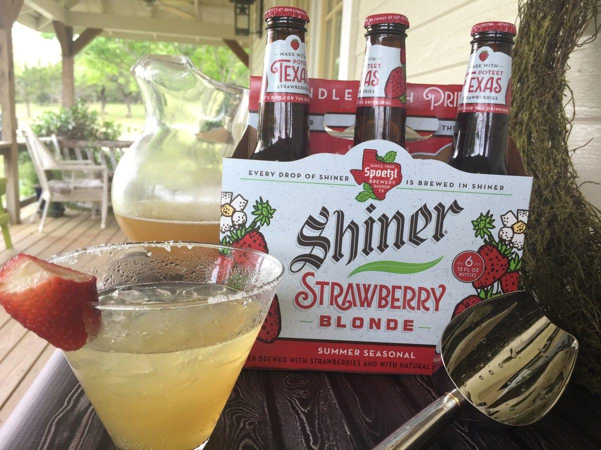 Strawberry Blonde Beer Margaritas Beer Margarita