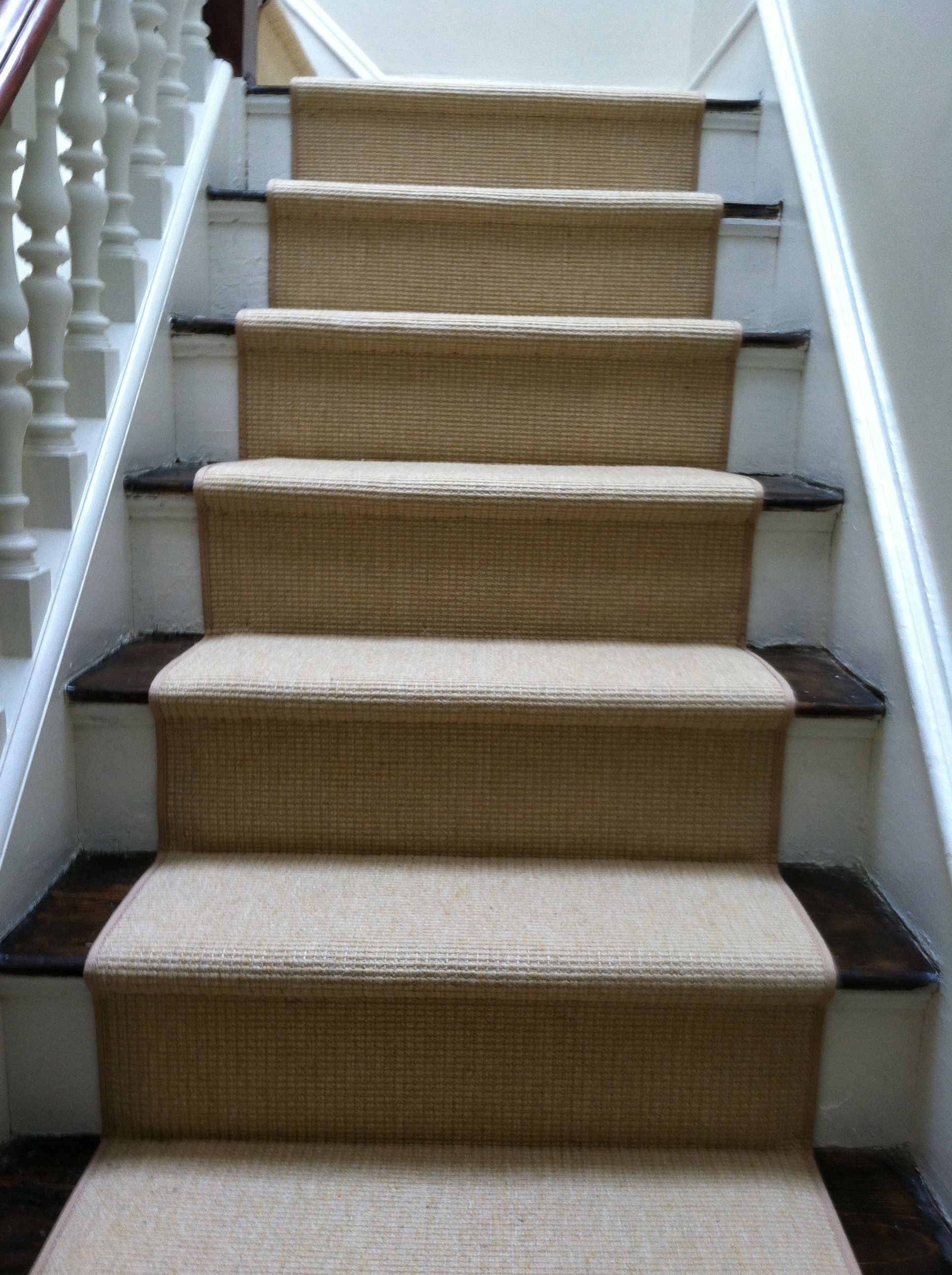 Best This Is A Custom Stair Runner Installed Hollywood Style In 400 x 300