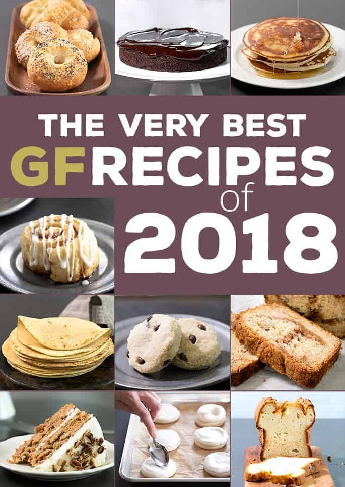 The Best Gluten Free Recipes of 2018. These are the 10 most popular gluten free recipes on Gluten Free on a Shoestring this year. Did your favorite win?