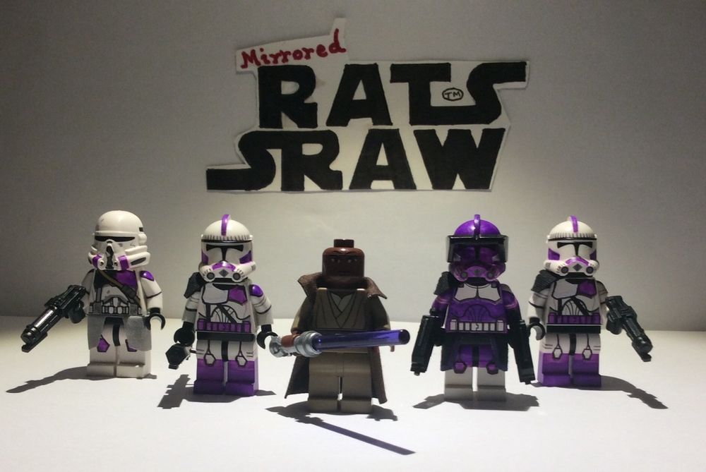 Lego Star Wars minifigures - Clone Custom MARCH SPECIAL   Star wars ...