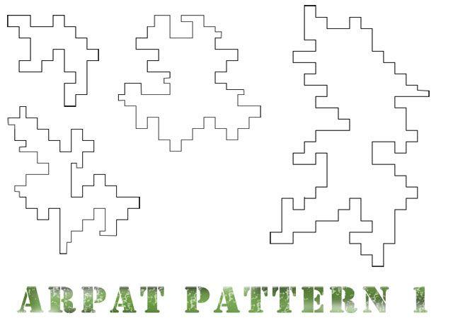 printable digital camo patterns stencils tarnmuster militär