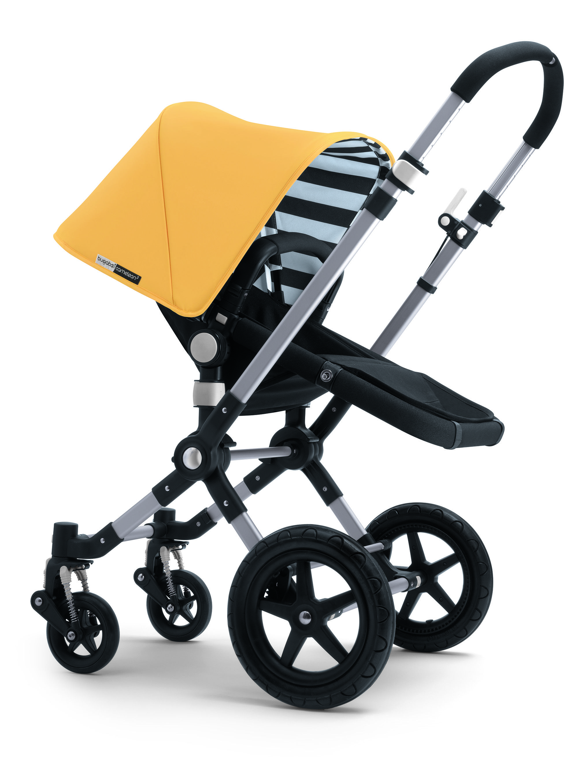 Bugaboo Pram Yellow Bugaboo Cameleon I Love The Yellow Stripes Very Cute