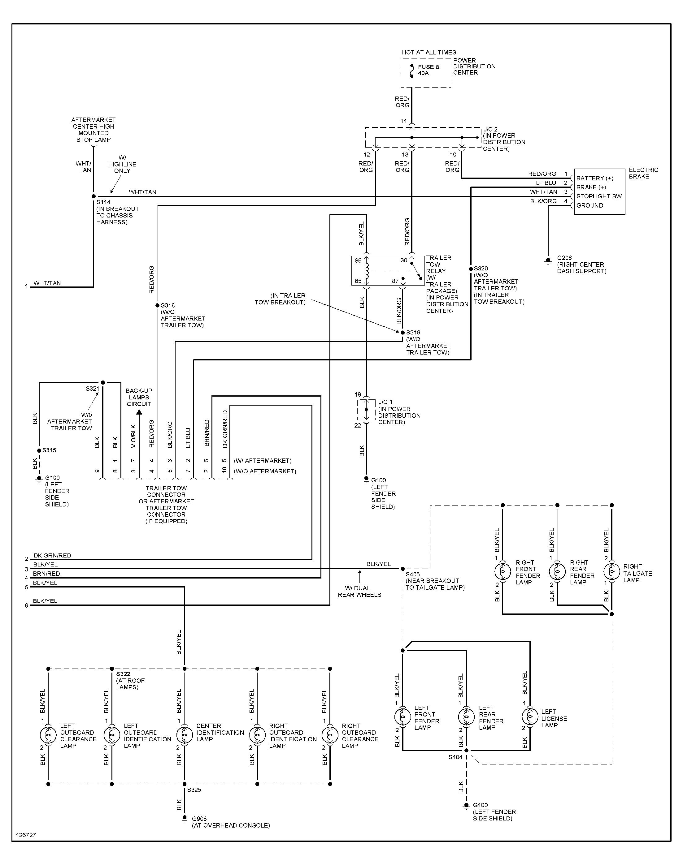 New Dodge Ram Headlight Wiring Diagram