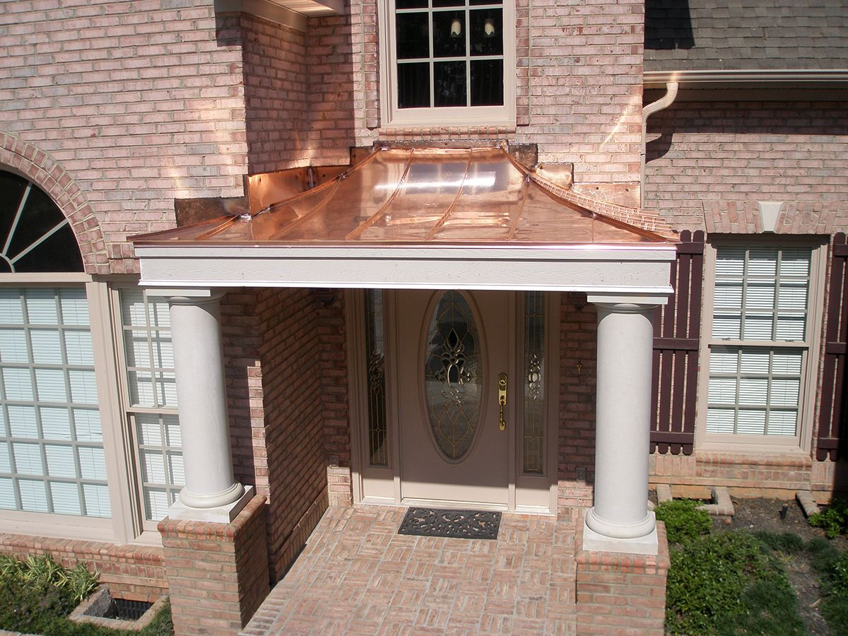 Copper Roofing And Accents Quality Metal Roofing Copper Work Trim Cornice Fabrication In Upstate Sc Ideals In Roofing Copper Roof Metal Roof Roofing