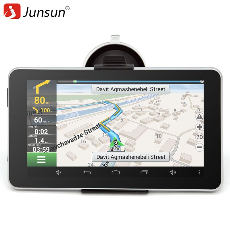 Inch Car Gps Navigation Android Bluetooth Wifi Russia Naviteleurope Map Truck Vehicle Gps