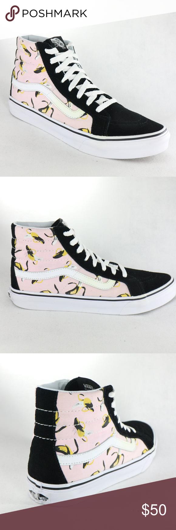 4bb68aad01764 Like New VANS SK8-Hi Slim Bananas/Ballerina Shoes RARE! Like new ...