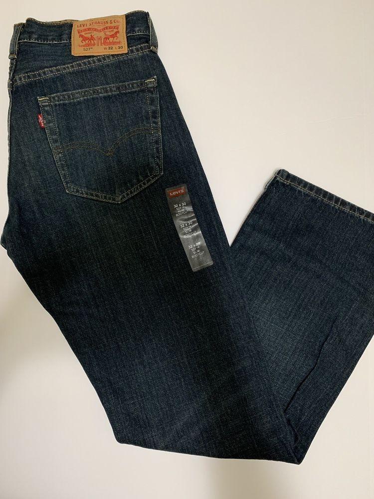 NEW Levi's 527 Mens Slim Fit Boot Cut Levi's Bootcut Jeans