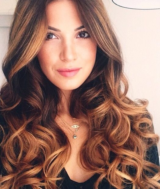 Soft Romantic Curls In A Half Up Style: Soft, Romantic Curls Are Carefree And Loose, While Still