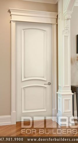 Add The Trim To Make Your Doors Look Tall For The Home