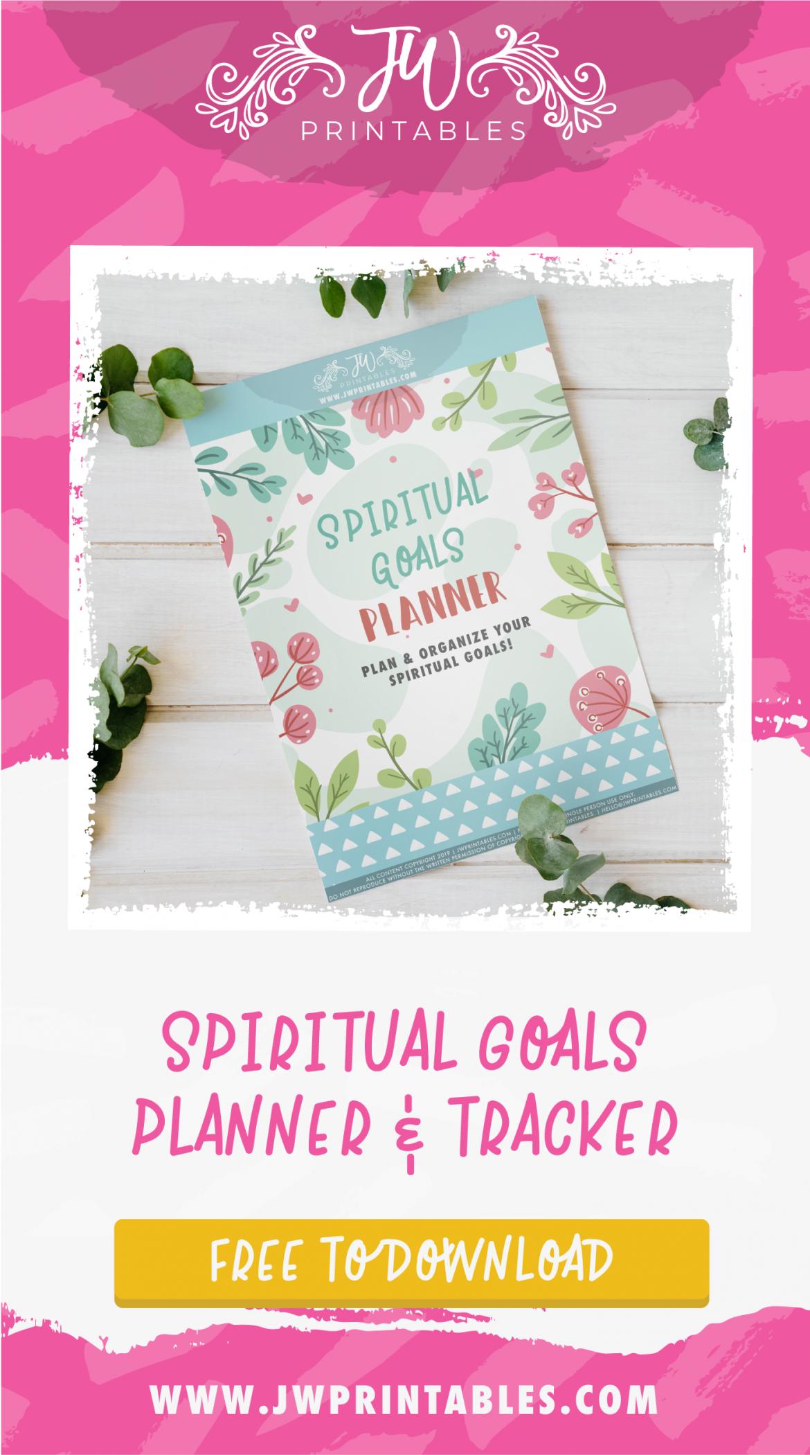 Spiritual Goals Planner