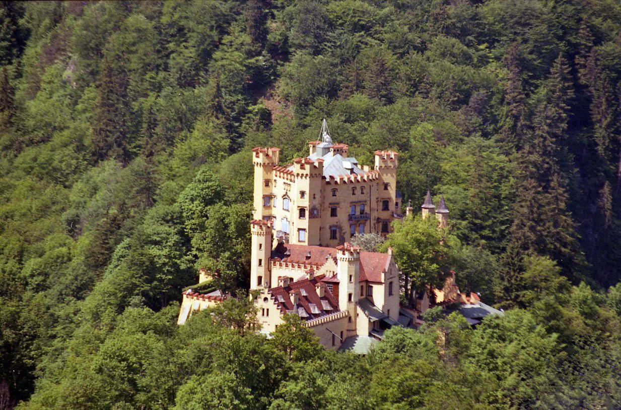 Schloss Hohenschwangau Bavaria Germany Castle Bavaria Germany Scenery