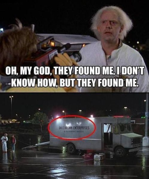 Back To The Future Funny Words Pictures Back To The Future
