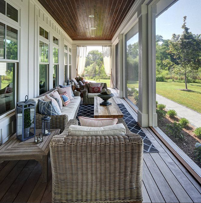 Narrow Front Porch Ideas In Porch Narrow Screened In Porch