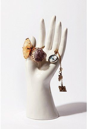 Shop Ceramic Hand Jewelry Stand at Urban Outfitters today.