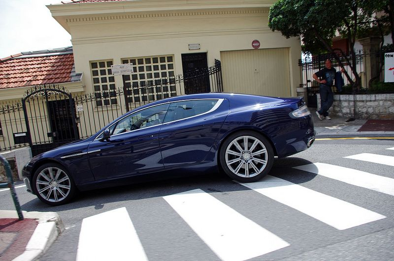Aston Martin Rapide (With images) | Aston martin rapide ...