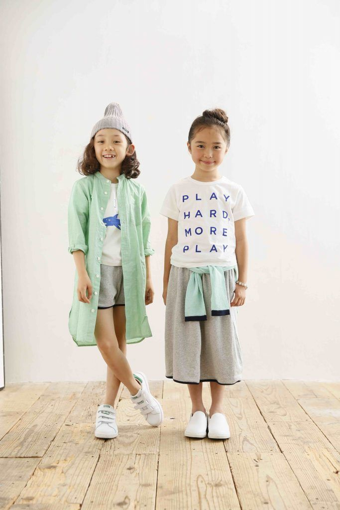 850e48cc60c0 Children and Young. Arch   Line Japanese kidswear is mostly monochromatic  or neutral colours but the odd pastel appears too for summer 2017