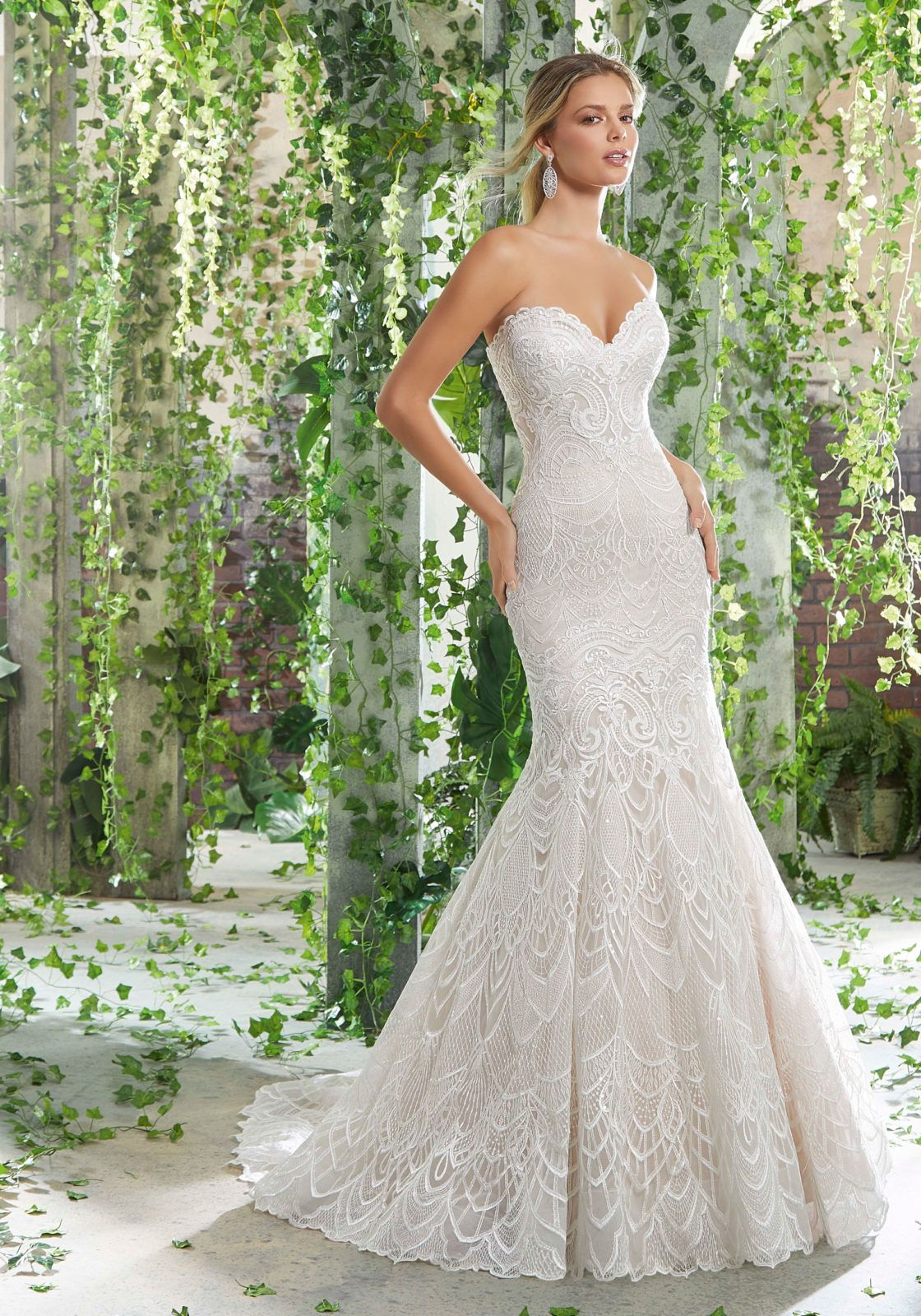 Pandora Wedding Dress Morilee Fitted Wedding Dress Wedding Dress Couture Fit And Flare Wedding Dress